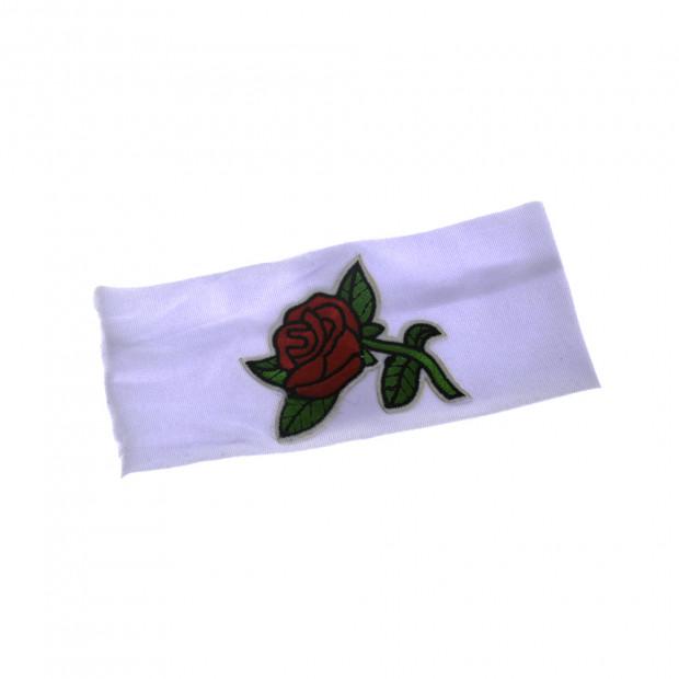 Rózsa hajpánt