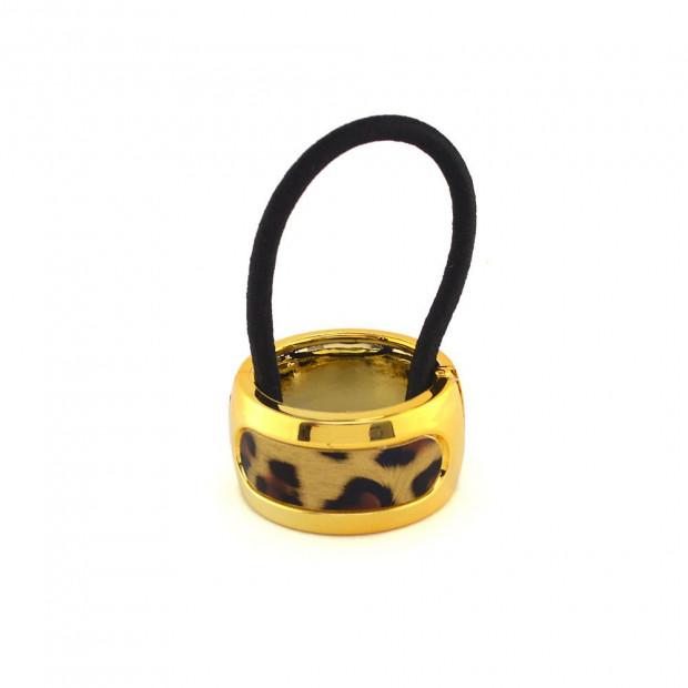 Leopárd mintás arany cop-fogó
