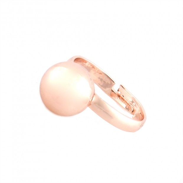 Piazzo gyűrű, rose gold