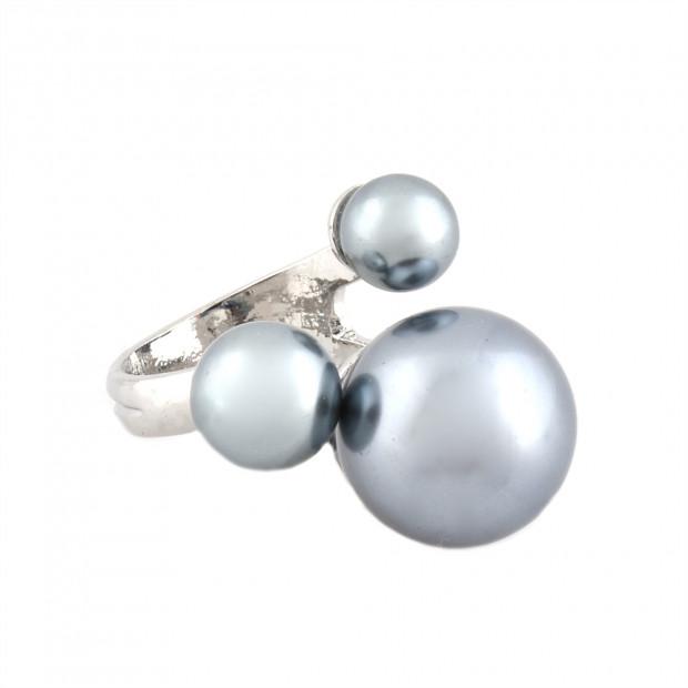 Pearly 3 gyűrű, szürke