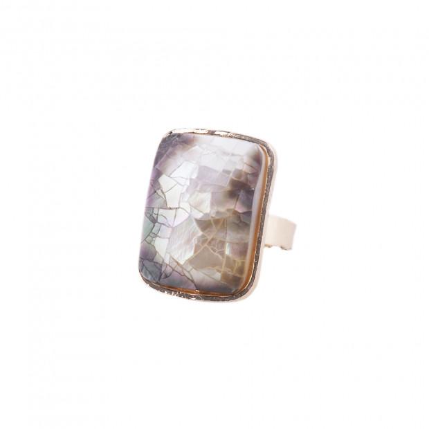 Valve tégla gyűrű, barna
