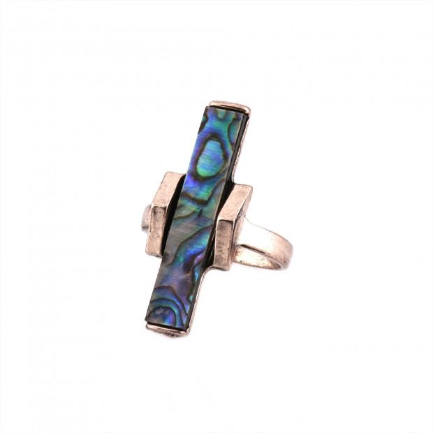 Hosszú opál gyűrű