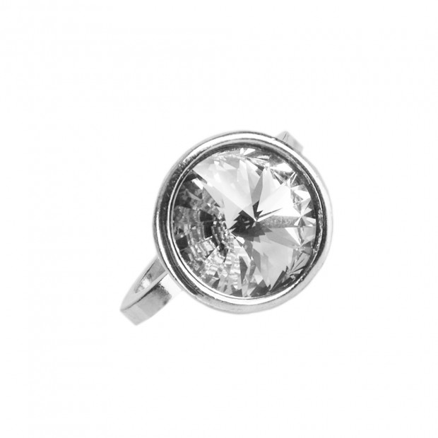 Swarovski óriás kristály gyűrű, 18 mm