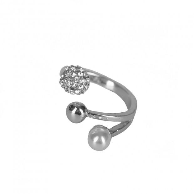 Trelo gyűrű, ezüst