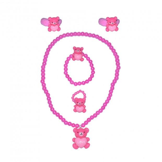 Teddy Love gyerek szett, pink