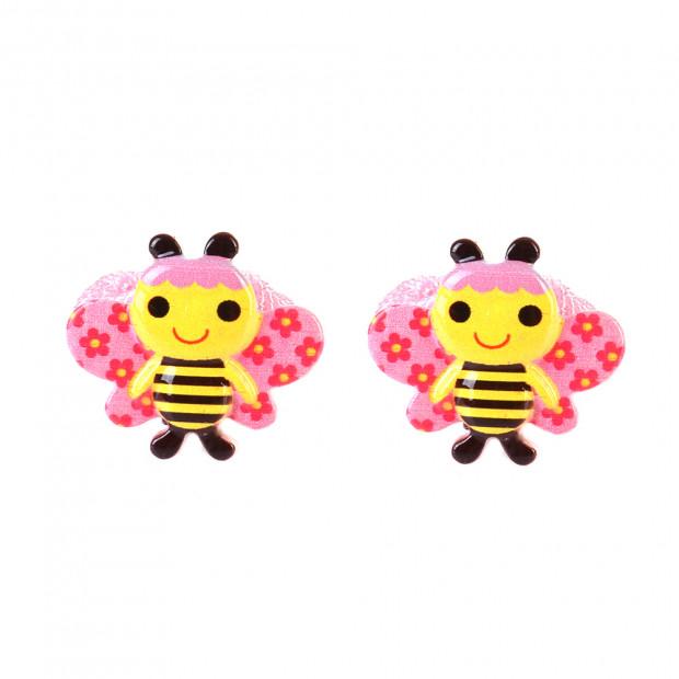 Mosolygó méhecske hajgumi
