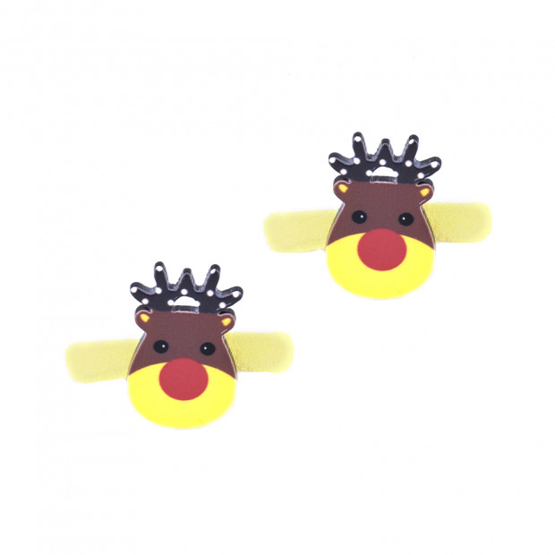 Sárga Rudolf hajgumi pár