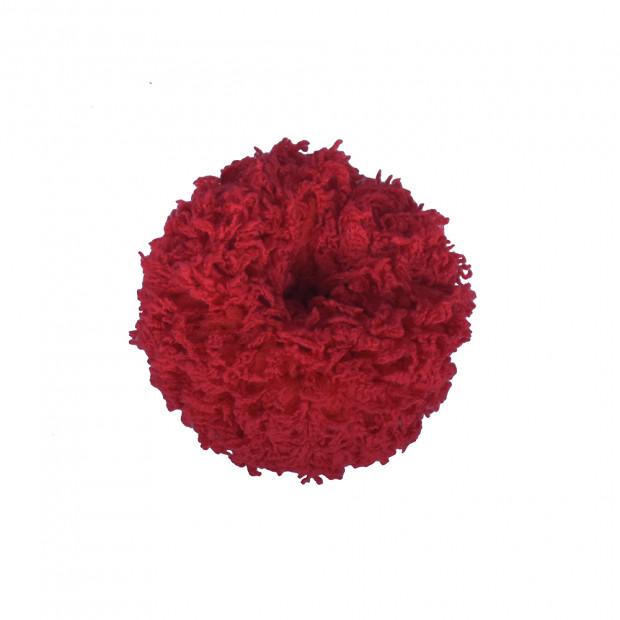Borzas hajgumi, piros