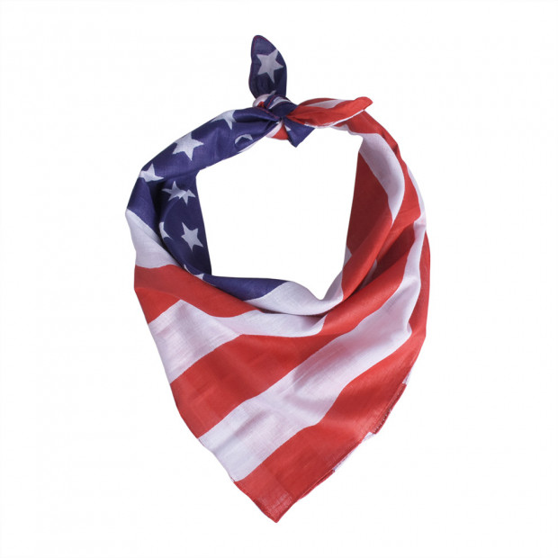 USA kendő, piros