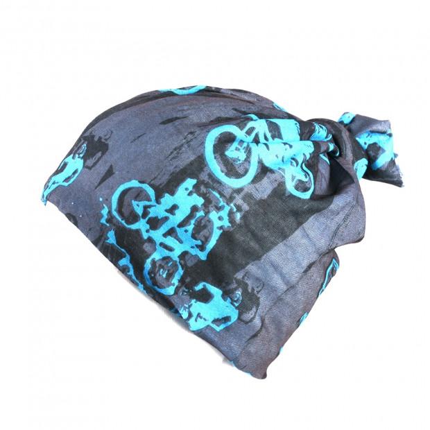 Kerékpár hajpánt , kék