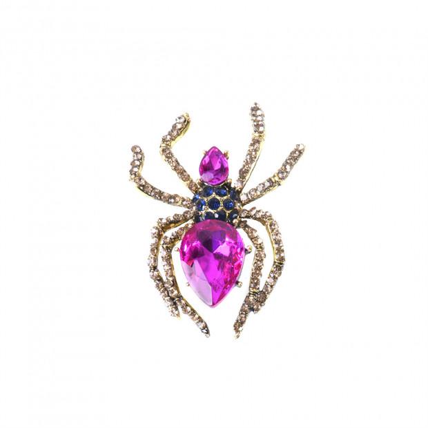 Gold spider  kitűző