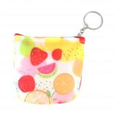 Plasty dinnye pénztárca/kulcstartó, piros