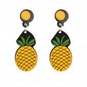 Ananász fülbevaló