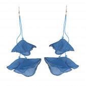 Lampiona fülbevaló, kék