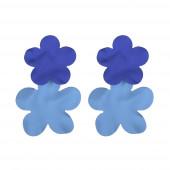 Flever fülbevaló, kék