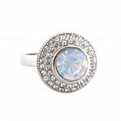 Ragyogás gyűrű, fehér