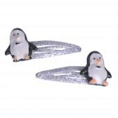 Csillám pingvin csitt-csat pár