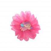 Sellőlány hajgumi, pink