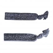 Leo karkötő pár, szürke-ezüst