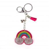 Rainbow kulcstartó