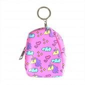 Unicorn backpack pénztárca/kulcstartó