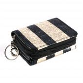 Stripy mini pénztárca, arany