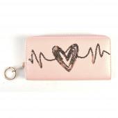 Heart pénztárca