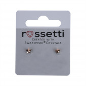 Swarovski csillag kristály fülbevaló, kicsi