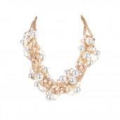 Gyöngyözön arany nyaklánc