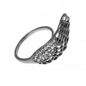 Strassz szárny gyűrű
