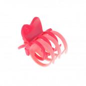 Dupla fogas hajcsipesz, pink-rózsaszín