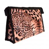 Leopárd kozmetikai táska