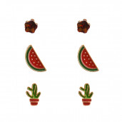 Cactus fülbevaló szett