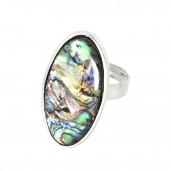 Opál mandula gyűrű