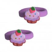 Epres muffin hajgumi