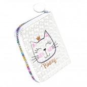Princess cat pénztárca